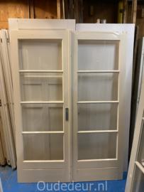 nr. set562 set deuren met vier ruiten (meerdere beschikbaar)