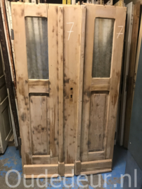 nr. set840 stel geloogde oude deuren