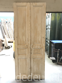 nr. set993 setje deuren antiek