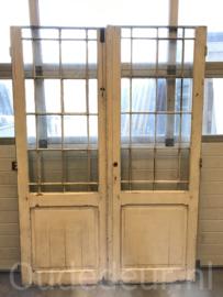nr. set686 set deuren met stalen roedes