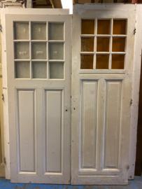 nr. 777 antieke deuren met 9 ruitjes
