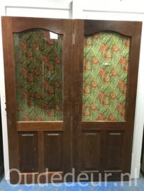 nr. 2240 hardhouten deur met ruit