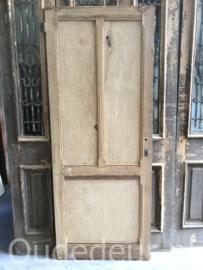 nr. 4310 oude kaal gemaakte / geloogde deur, decoratief