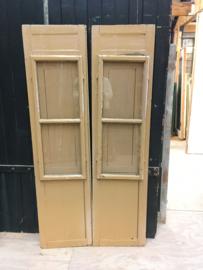 nr. set486 antieke spaanse raamluiken