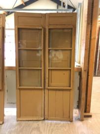 nr. set481 antieke spaanse raamluiken