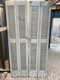 nr. L162 set van vier oude louvre deuren