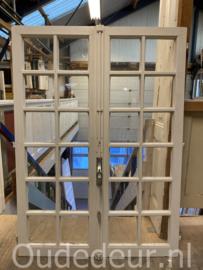 nr. R305 antieke dubbele ramen, (meerdere sets)