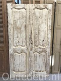 nr. set822 oude deuren white wash