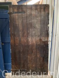nr. 4476F opgeklampte deur