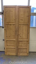 nr. set 464 geloogde antieke deuren