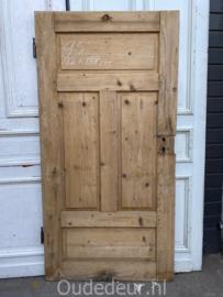 nr. 1437 antieke geloogde deur