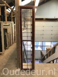nr. GL439 oude glas in lood raam
