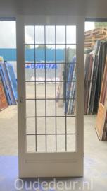 nr. GL588 glas in lood deur