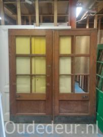 nr. 1198 2 gelijke glasdeuren