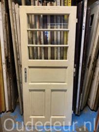 nr. 1405 oude antieke glasdeur