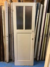 nr. 1069 antieke deur met 2 staande ruiten