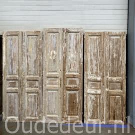 nr. set494 serie geloogde antieke deuren