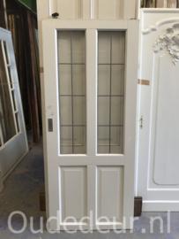 nr. GL433 glas in lood deur