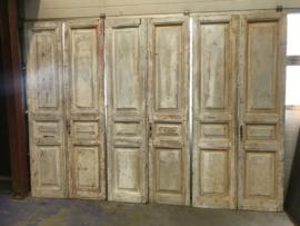 nr, set794 serie gelijke sets antieke deuren