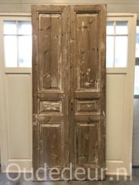 nr. set642 stel smalle hoge deuren
