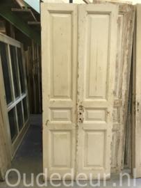 nr. set405 set antieke witte deuren