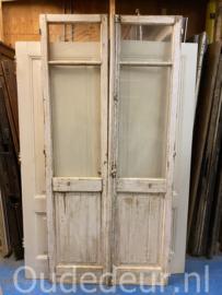 nr. set978 set antieke dubbele deuren
