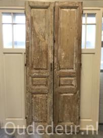 nr. set643 stel antieke hoge deuren