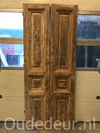 nr. set866 stel antieke stevige deuren