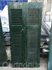 nr. L276 2 groene louvre