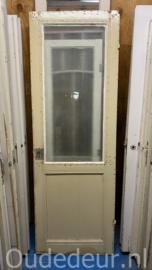 nr. 2388 deur met mat glas er in