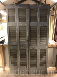 nr. L423 set van vier oude louvre deuren