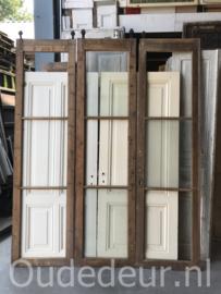 nr. 4321 serei oude schuifdeuren (met zonder glas)