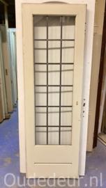 nr. GL552 bruynzeel glas in lood deur
