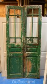 nr. set617 set antieke glasdeuren