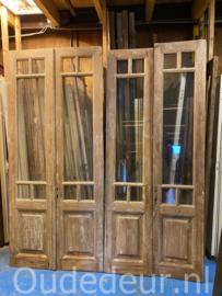 nr. set520 3 gelijke sets oude antieke deuren