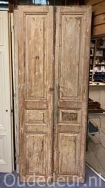 nr. set955 antieke set geloogde deuren