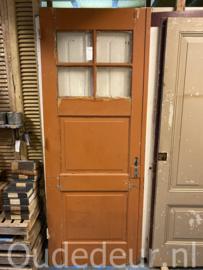 nr. 1082 oude deur met drie vakken