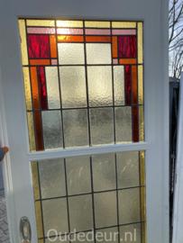 nr. E389 glas in lood ensuite deuren (zonder panelen )