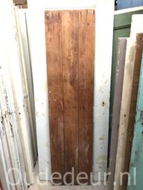 nr. 1861 smalle kale opgeklampte deur