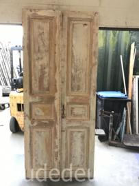 nr. set983 set oude deuren white wash