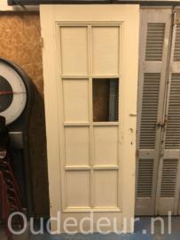 nr. 2284 oude grenen  glasdeur