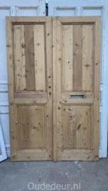 nr. set450 antieke geloogde deuren