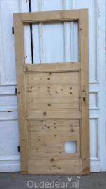 nr. 1436 antieke geloogde deur