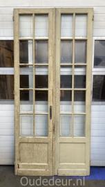nr. set990 hoge antieke dubbele deuren