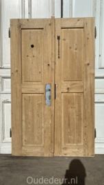 nr. set437 antieke geloogde lage deuren