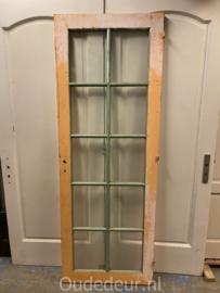 nr. 2352 deur met 10 facetglas ruitjes