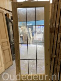 nr. GL525 glas in lood deur
