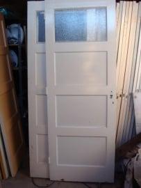 nr. 38 paneeldeuren, binnendeur jaren dertig  (vele maten) , bruynzeel deur