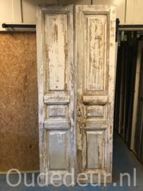 nr. set990 stel oude witte deuren