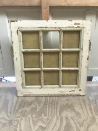 nr. 4378 oud raam met 9 ruiten